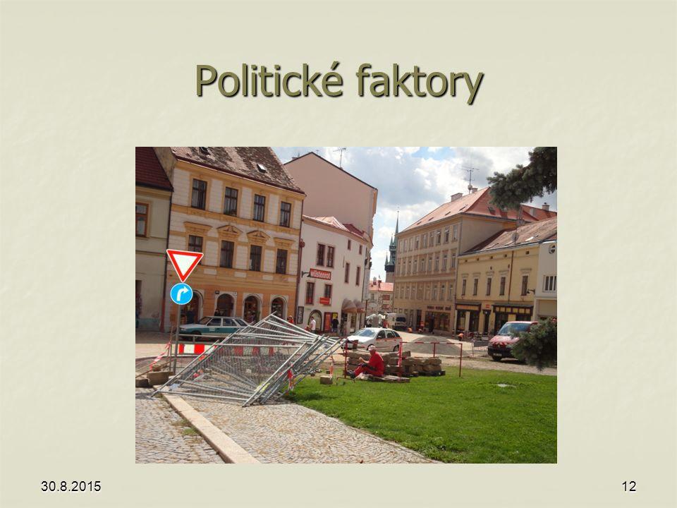 Politické faktory Znojmo, srpen 2013 21.4.2017