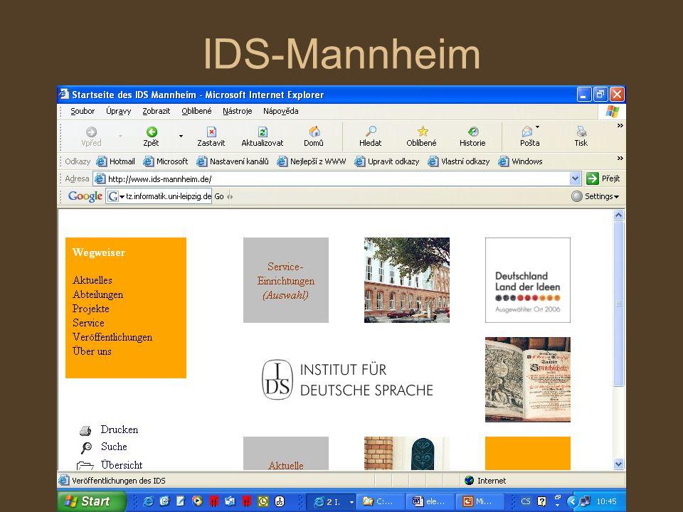 IDS-Mannheim
