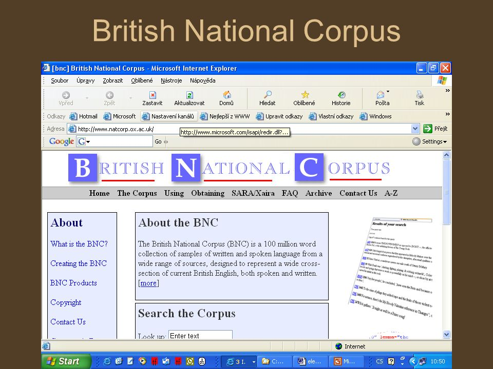 British National Corpus