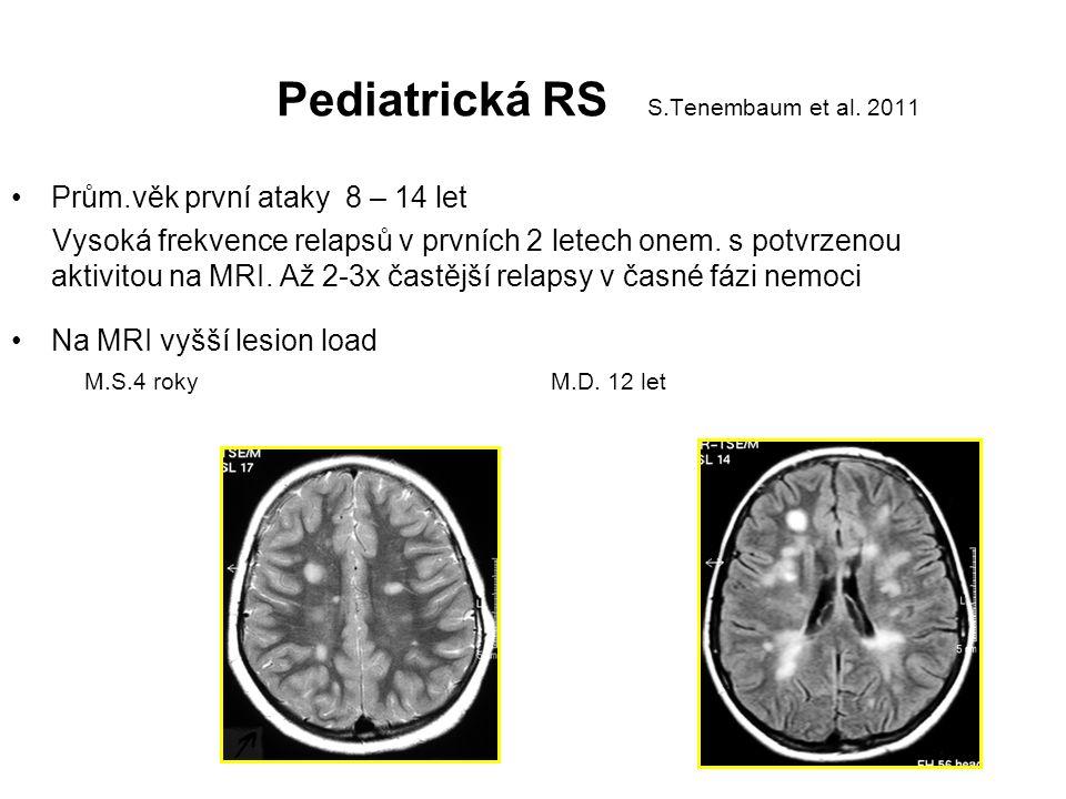 Pediatrická RS S.Tenembaum et al. 2011