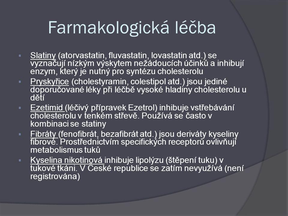Farmakologická léčba