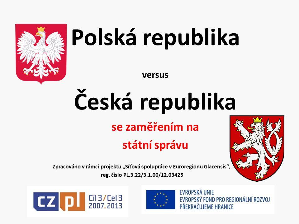 Polská republika versus Česká republika se zaměřením na státní správu