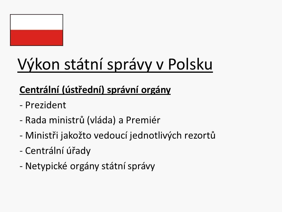 Výkon státní správy v Polsku