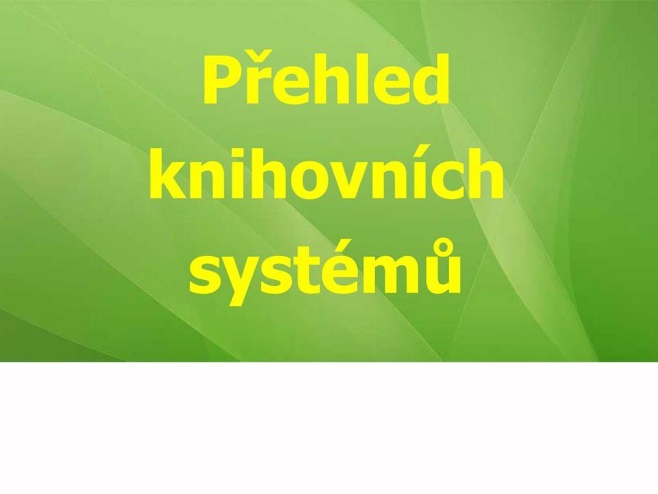 Přehled knihovních systémů