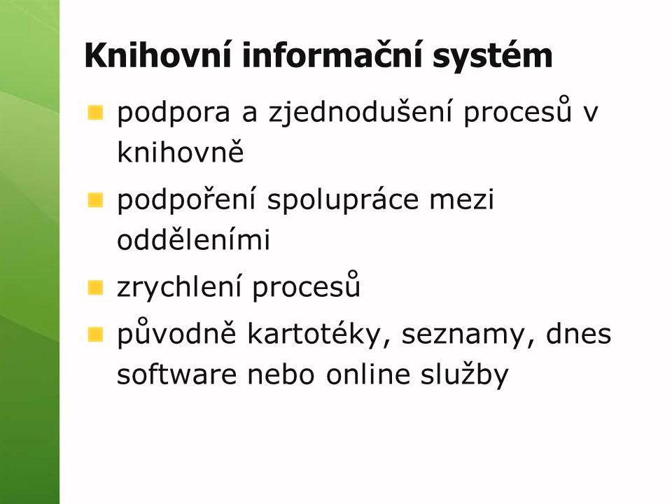 Knihovní informační systém