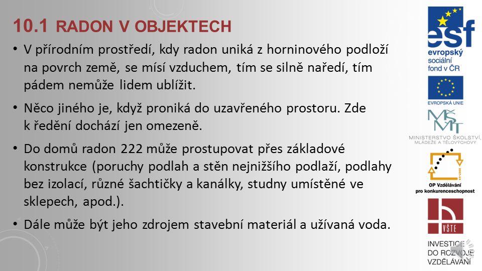10.1 radon v objektech