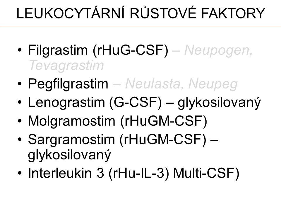 Leukocytární růstové faktory