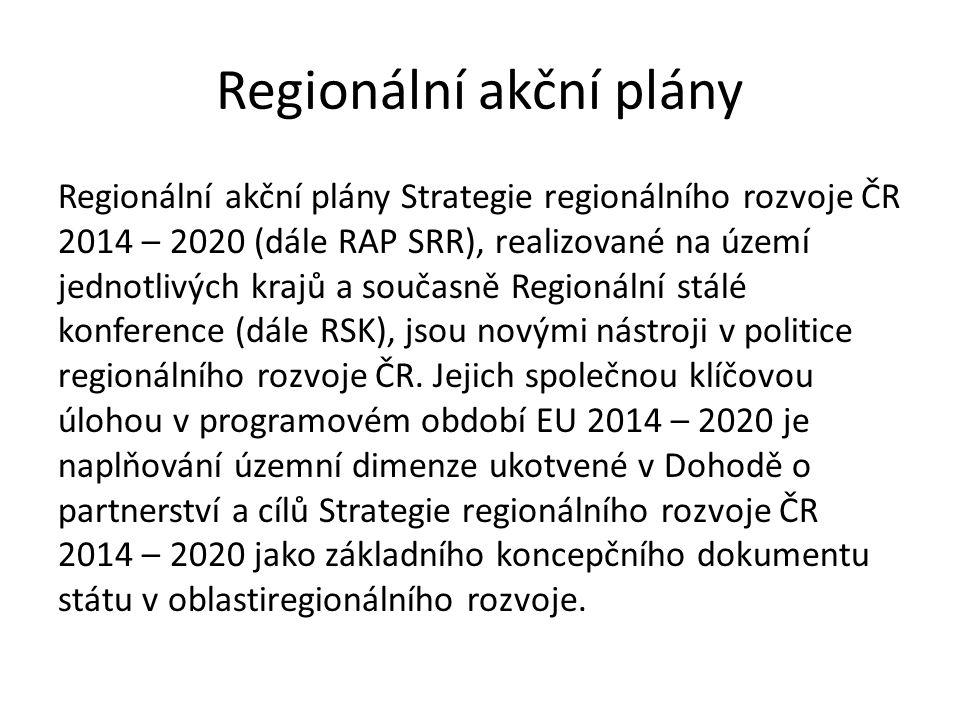 Regionální akční plány