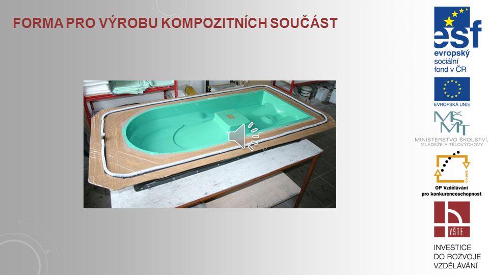 Forma pro výrobu kompozitních součást