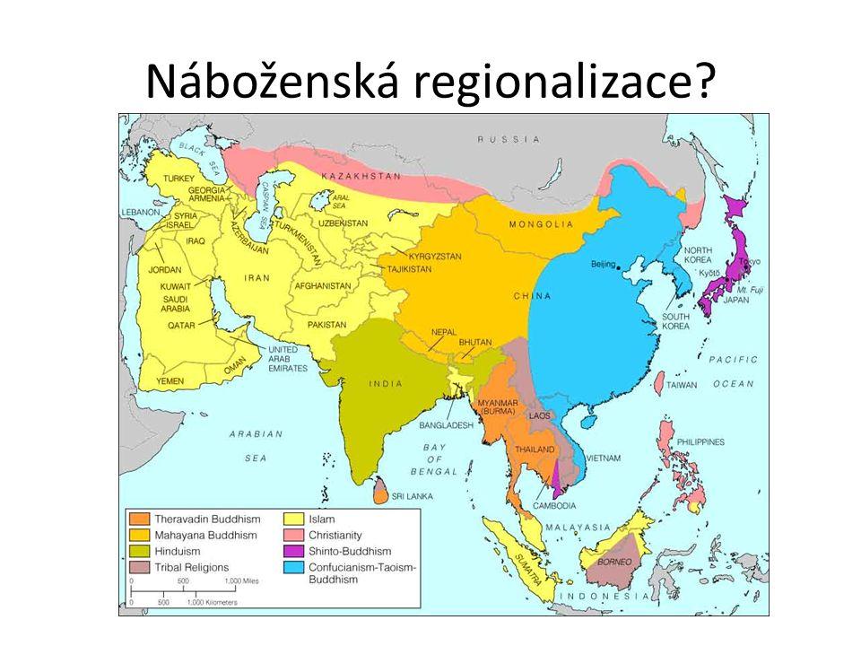 Náboženská regionalizace