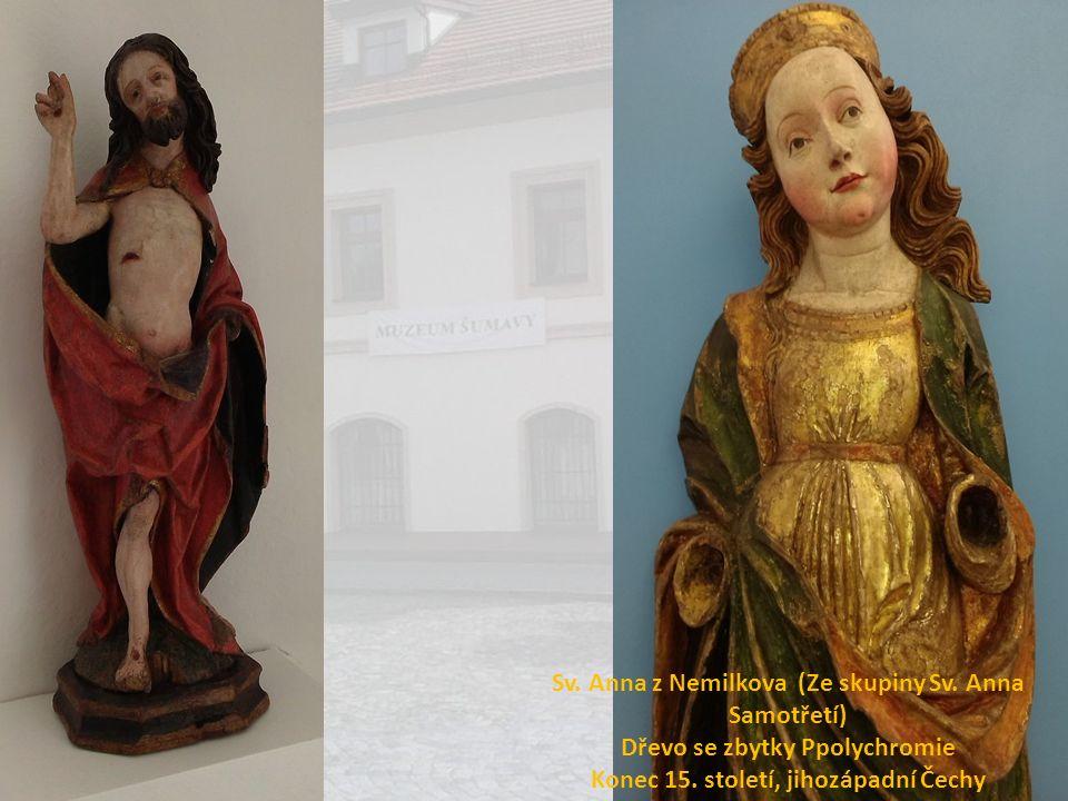 Sv. Anna z Nemilkova (Ze skupiny Sv. Anna Samotřetí)