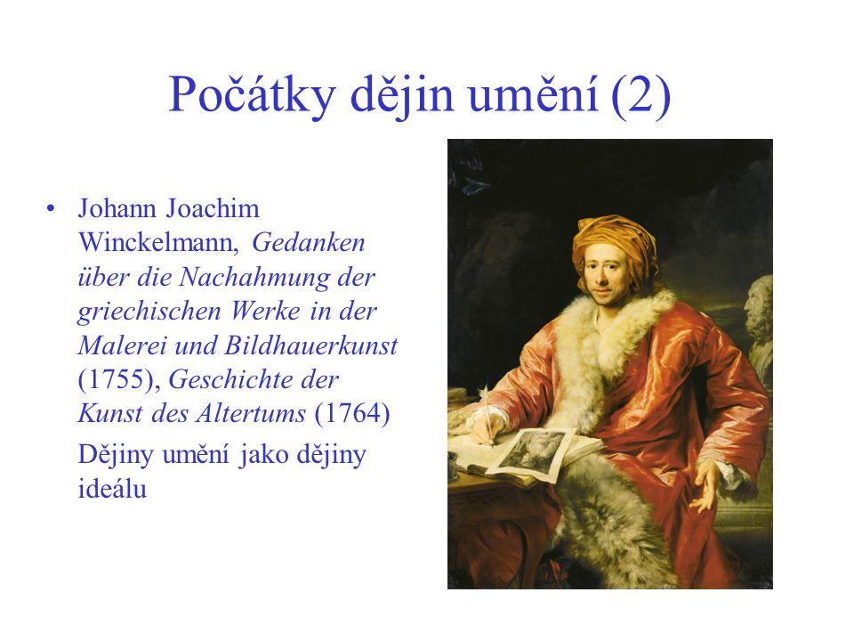Počátky dějin umění (2)