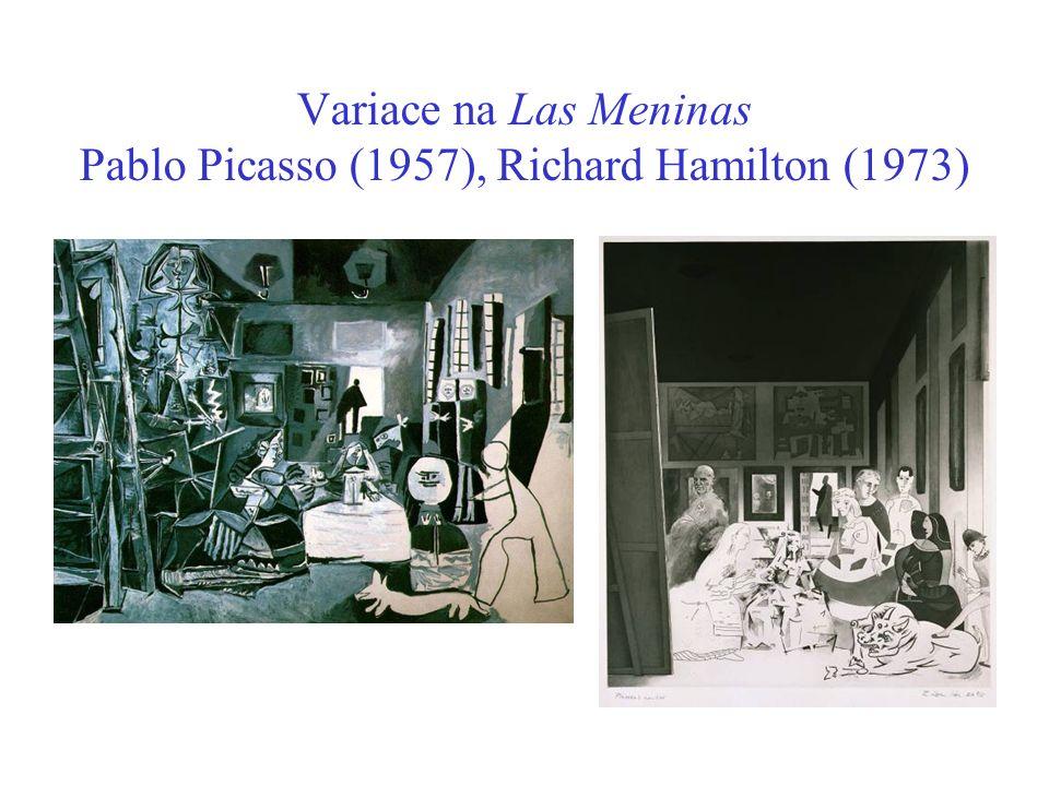 Variace na Las Meninas Pablo Picasso (1957), Richard Hamilton (1973)
