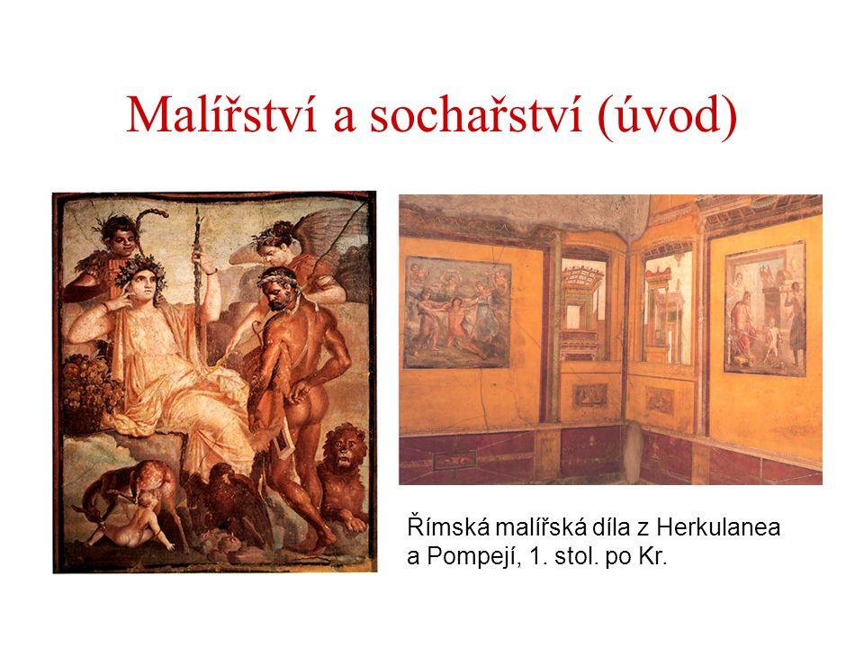 Malířství a sochařství (úvod)