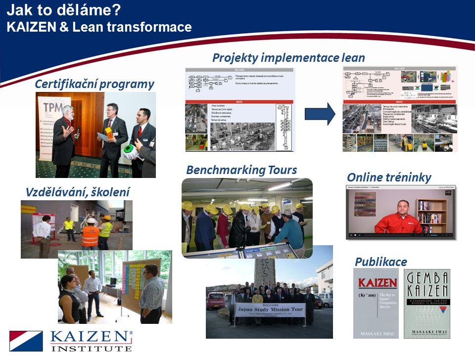 Jak to děláme KAIZEN & Lean transformace