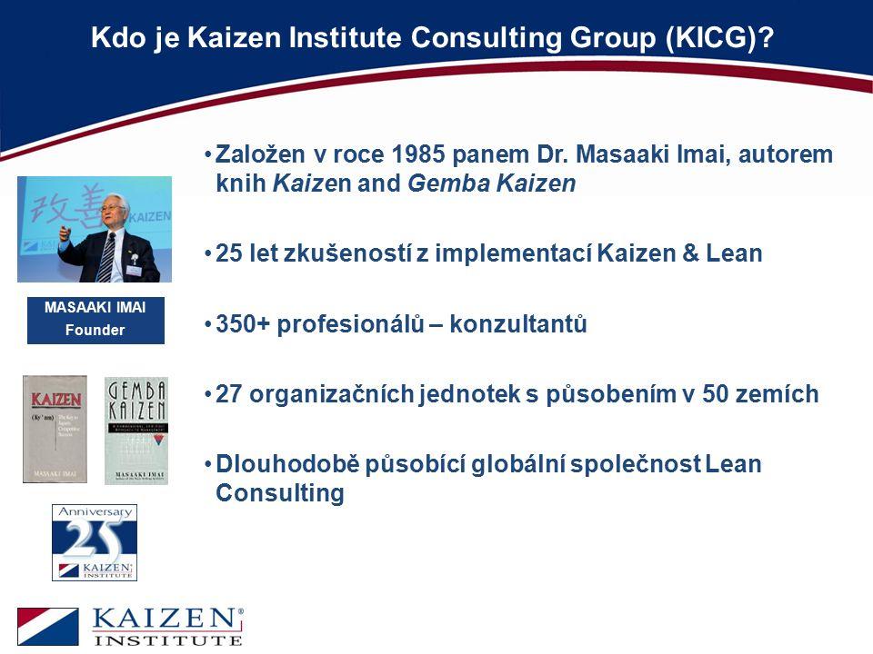 Kdo je Kaizen Institute Consulting Group (KICG)