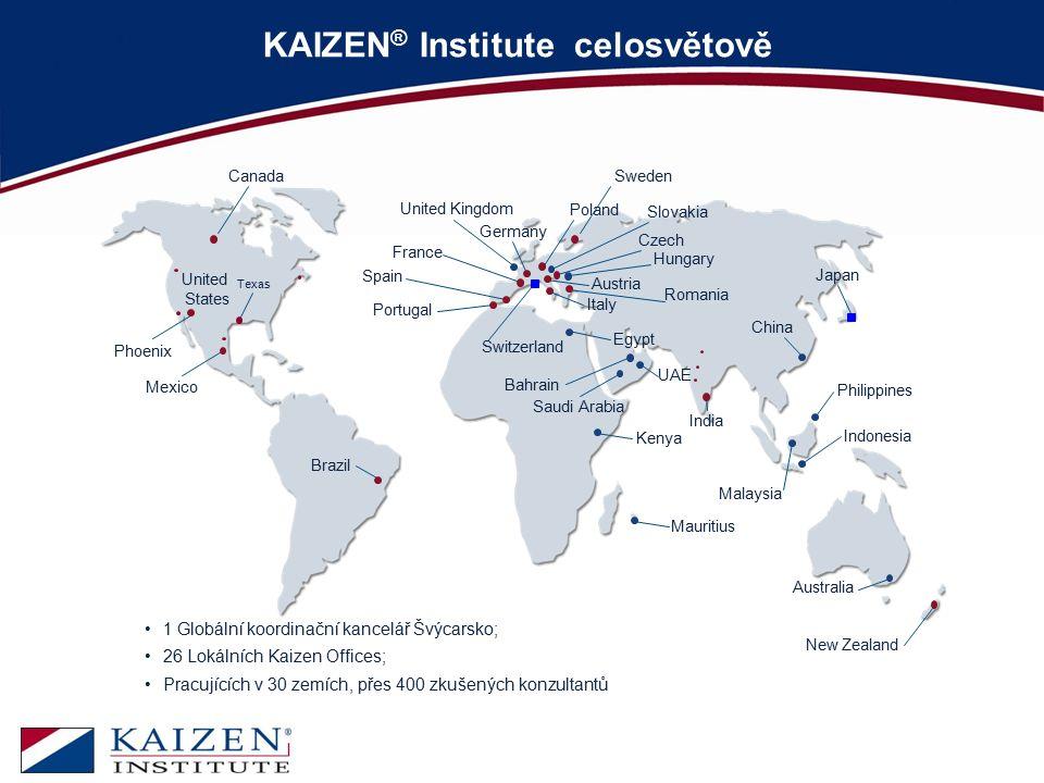 KAIZEN® Institute celosvětově