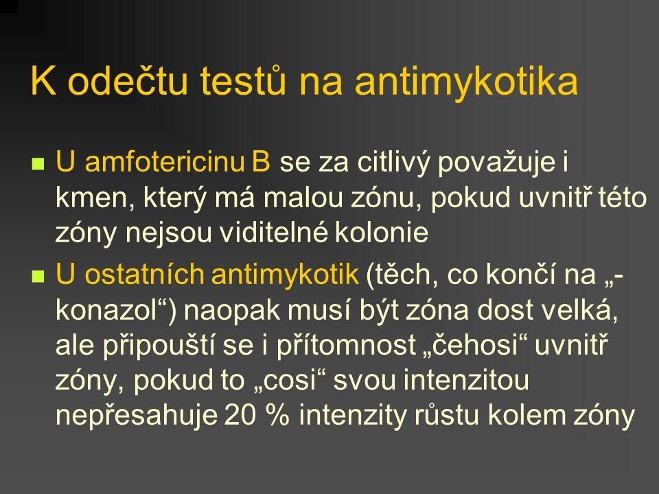 K odečtu testů na antimykotika