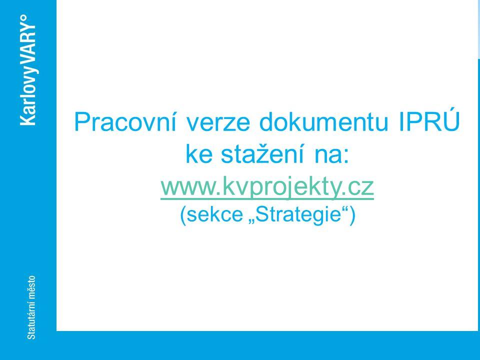 Pracovní verze dokumentu IPRÚ ke stažení na: