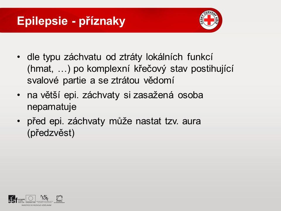 Epilepsie - příznaky