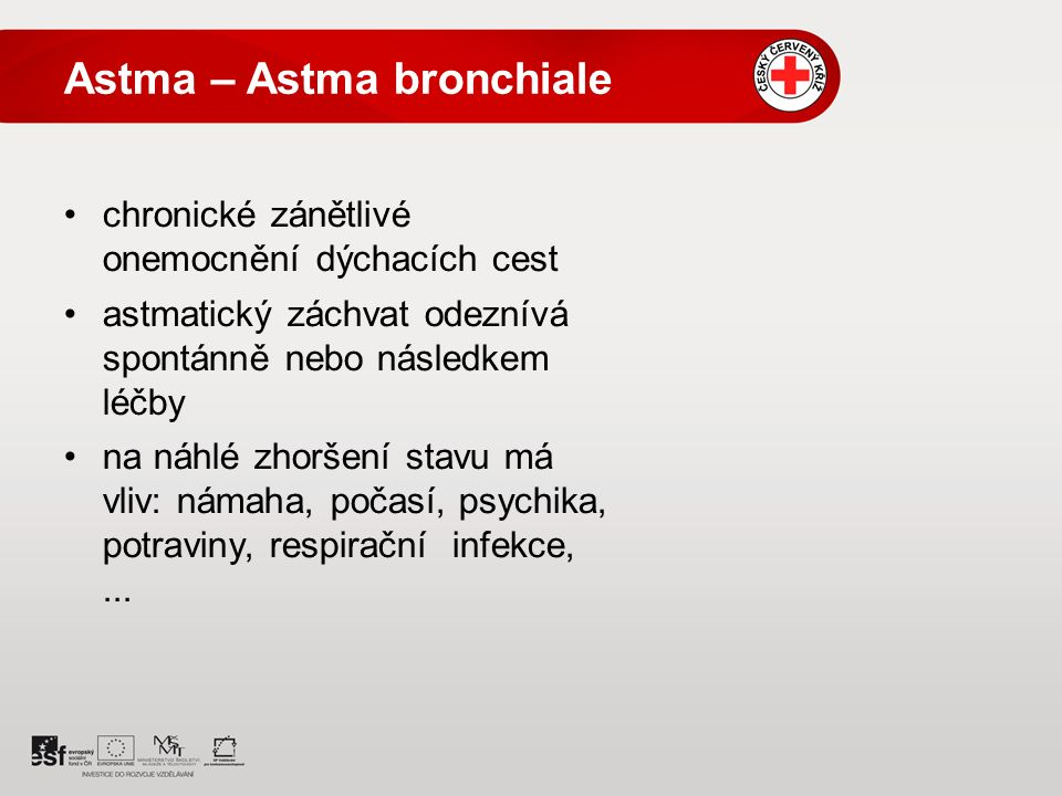 Astma – Astma bronchiale