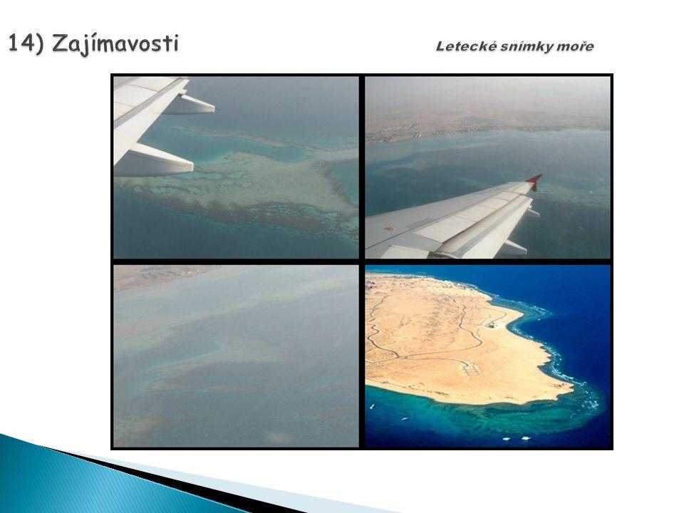 14) Zajímavosti Letecké snímky moře