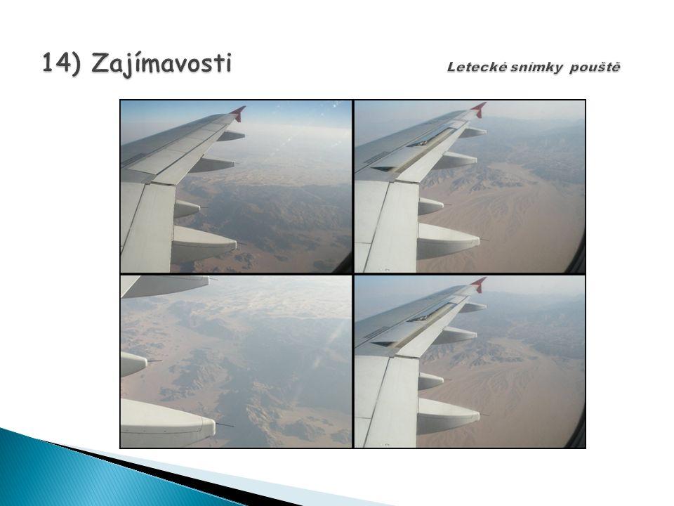 14) Zajímavosti Letecké snímky pouště