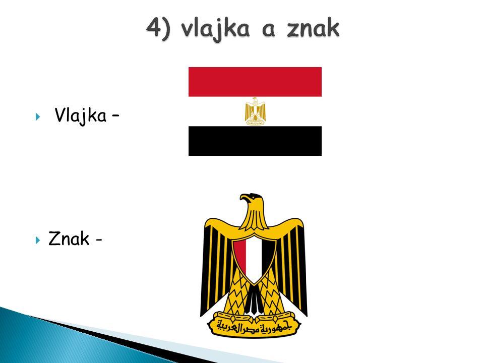 4) vlajka a znak Vlajka – Znak -