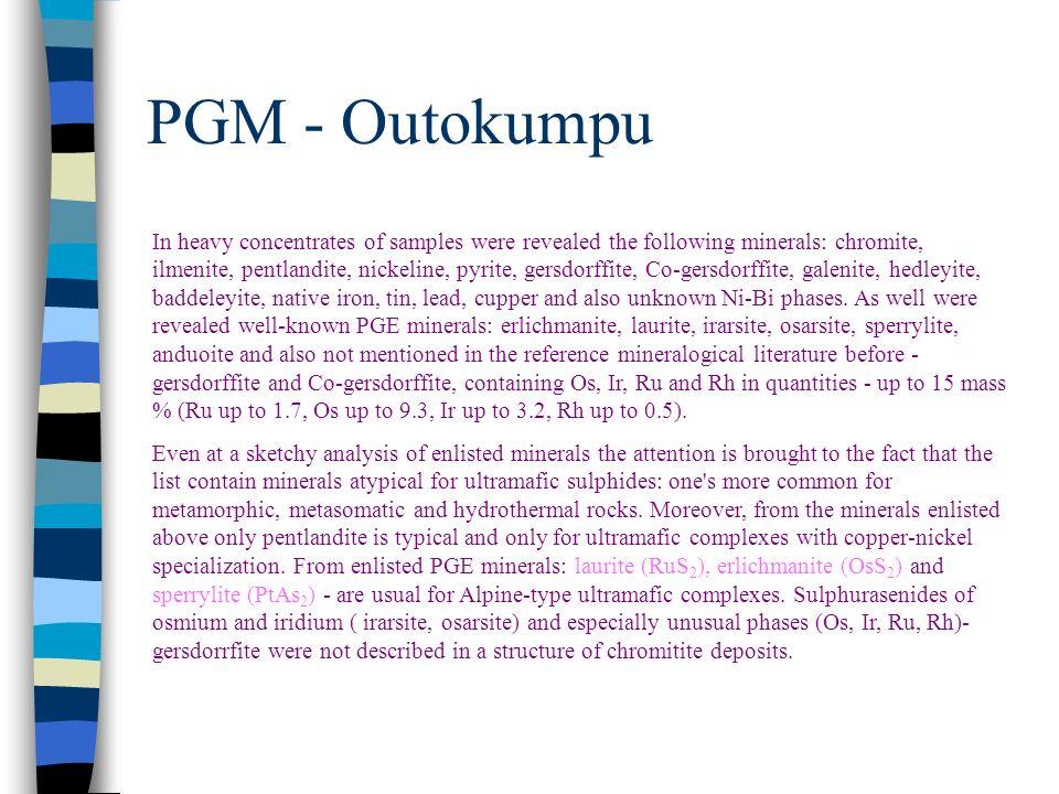 PGM - Outokumpu