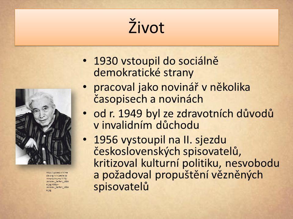 Život 1930 vstoupil do sociálně demokratické strany