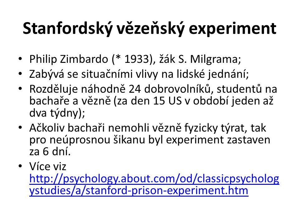Stanfordský vězeňský experiment