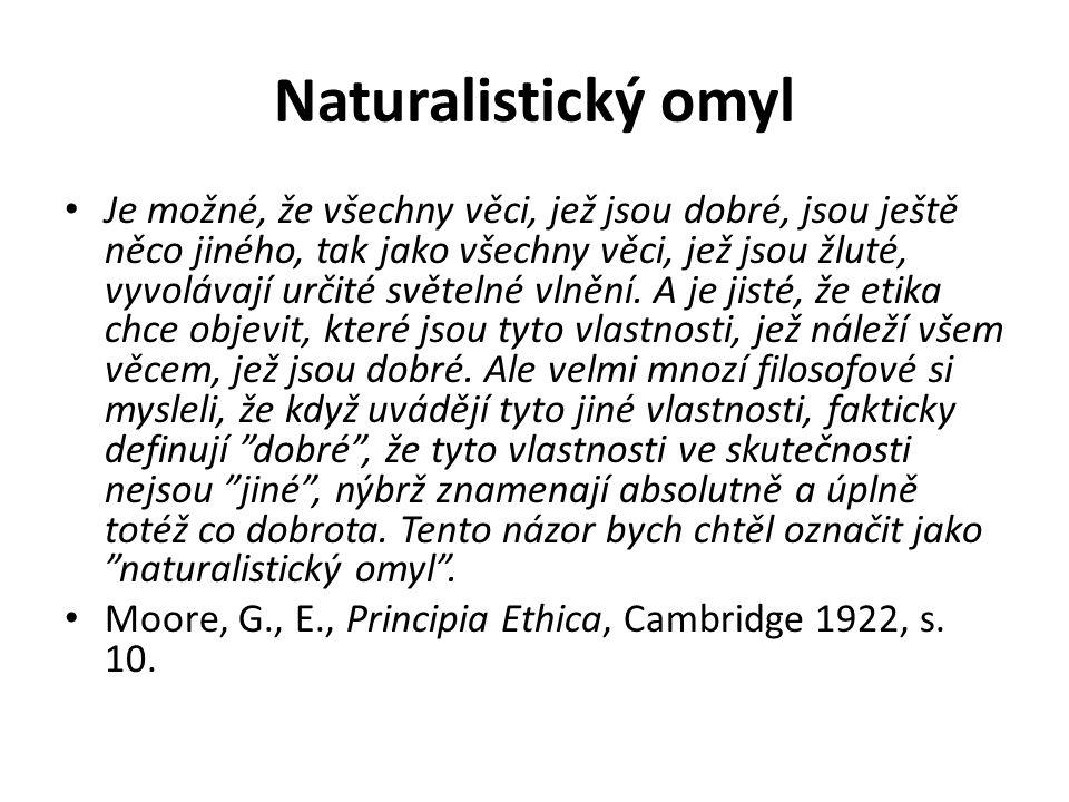 Naturalistický omyl