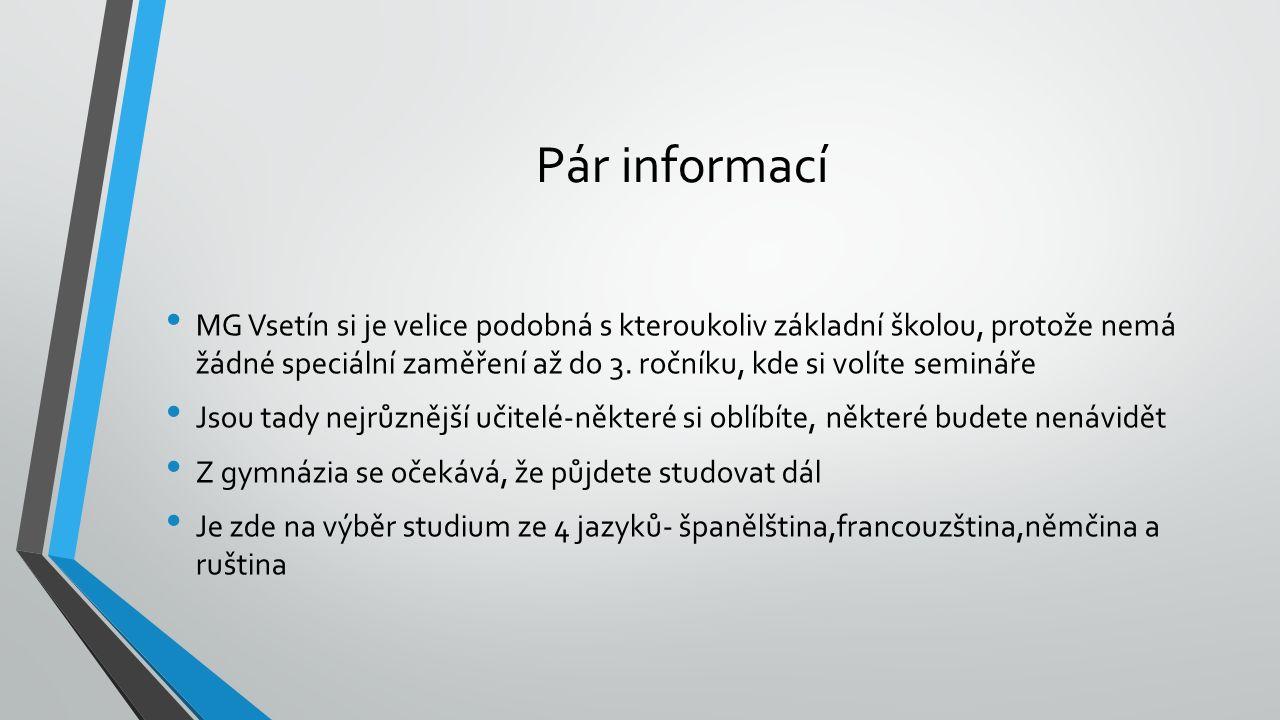 Pár informací