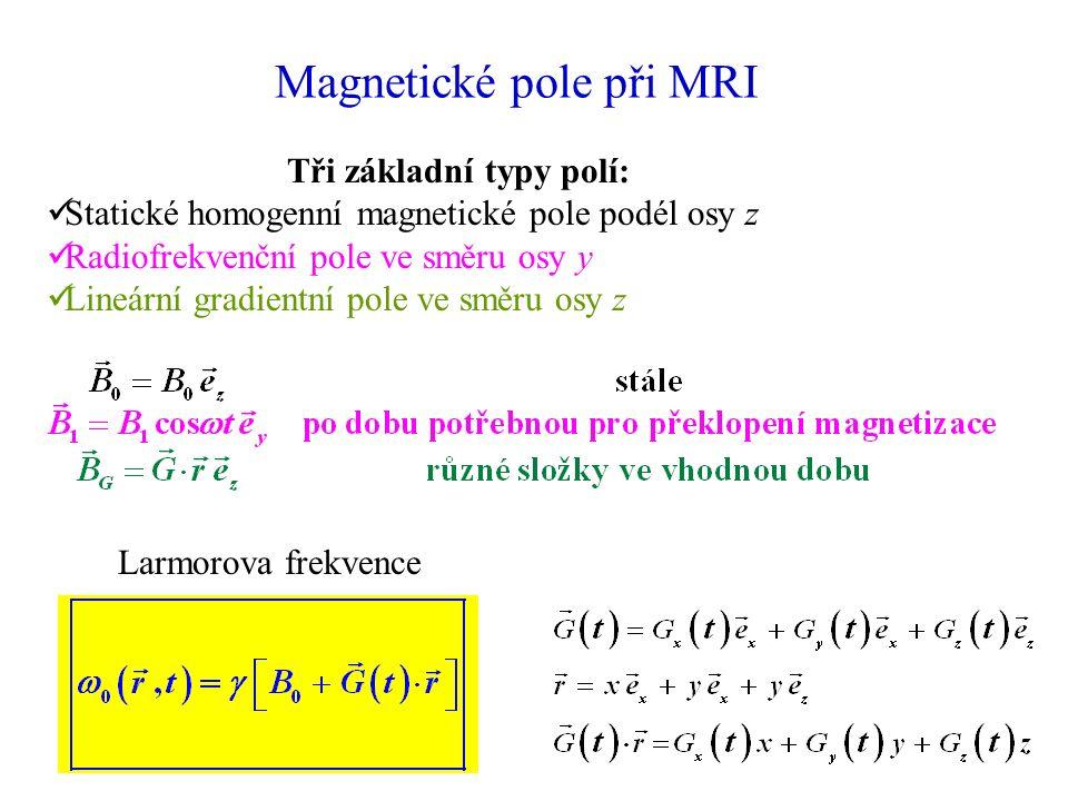 Magnetické pole při MRI