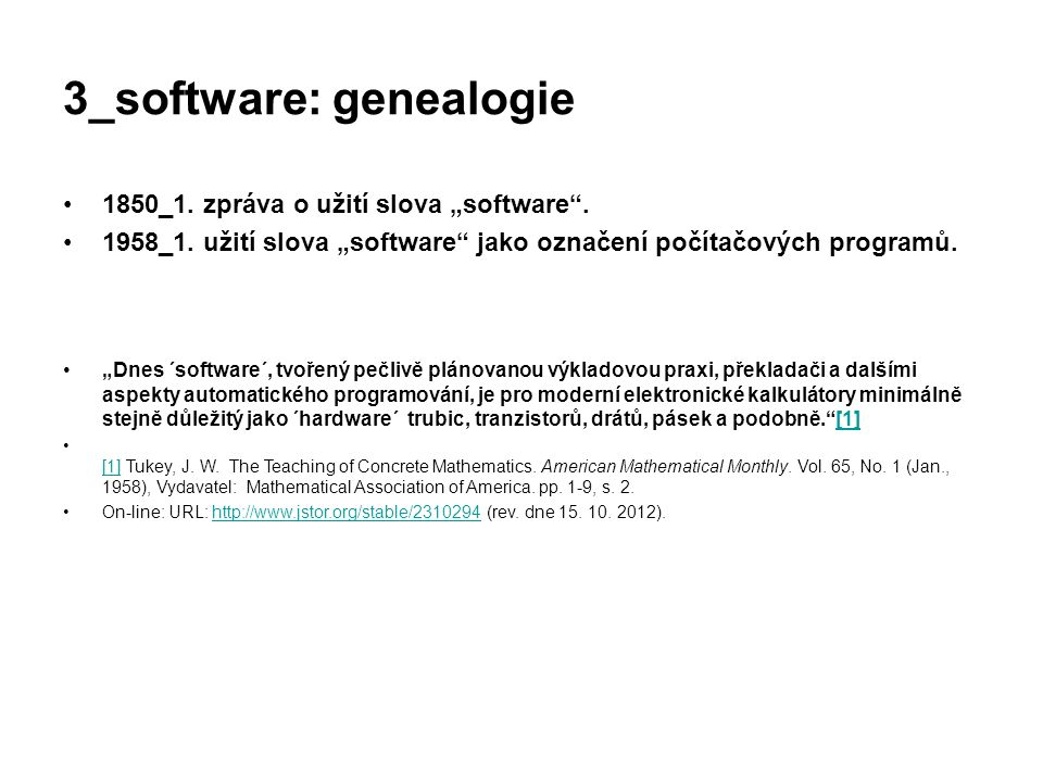 3_software: genealogie