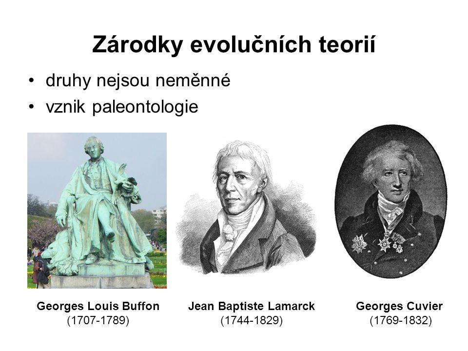 Zárodky evolučních teorií
