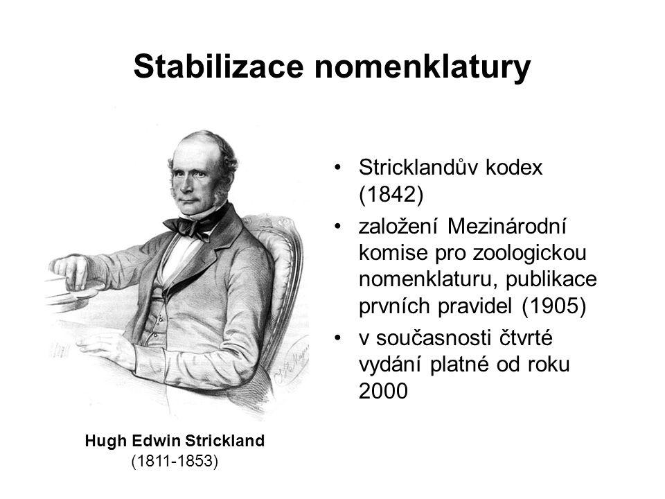 Stabilizace nomenklatury