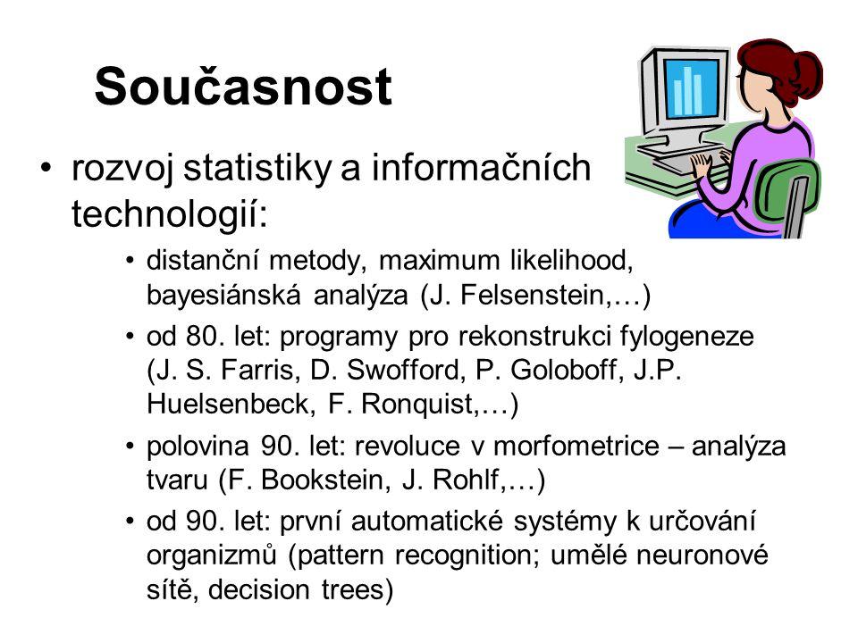 Současnost rozvoj statistiky a informačních technologií: