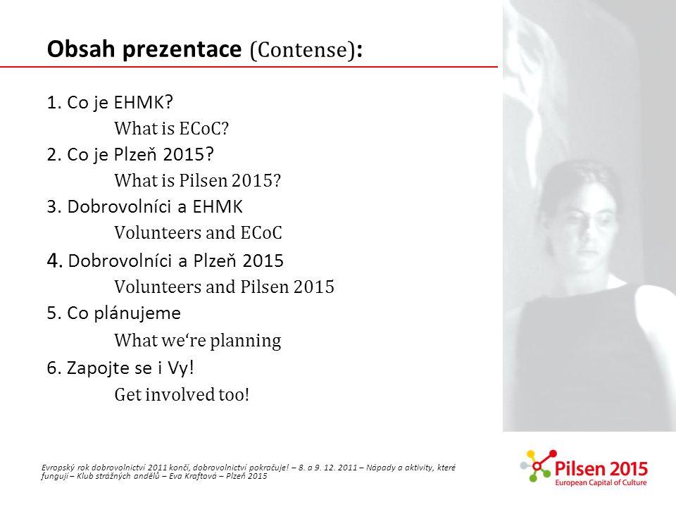 Obsah prezentace (Contense):
