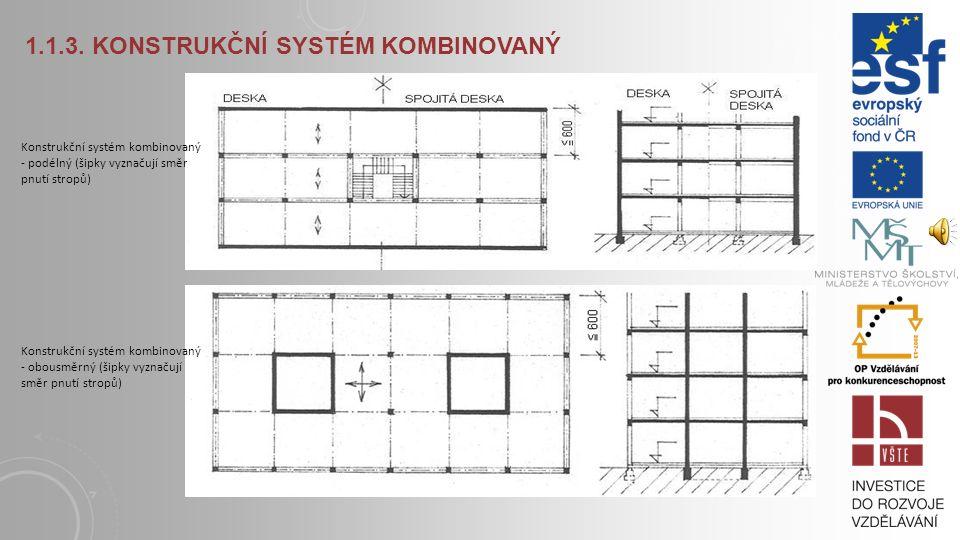 1.1.3. Konstrukční systém kombinovaný