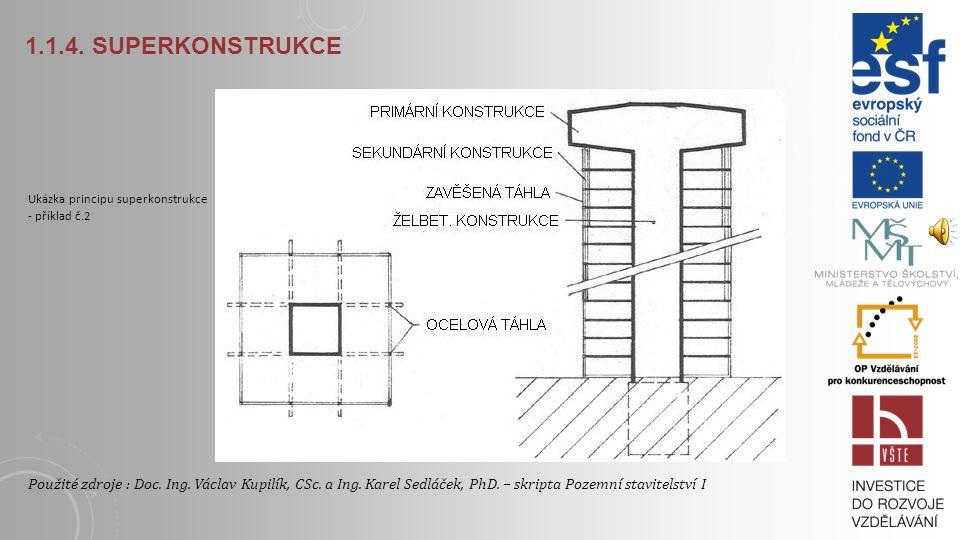 1.1.4. Superkonstrukce Ukázka principu superkonstrukce - příklad č.2.