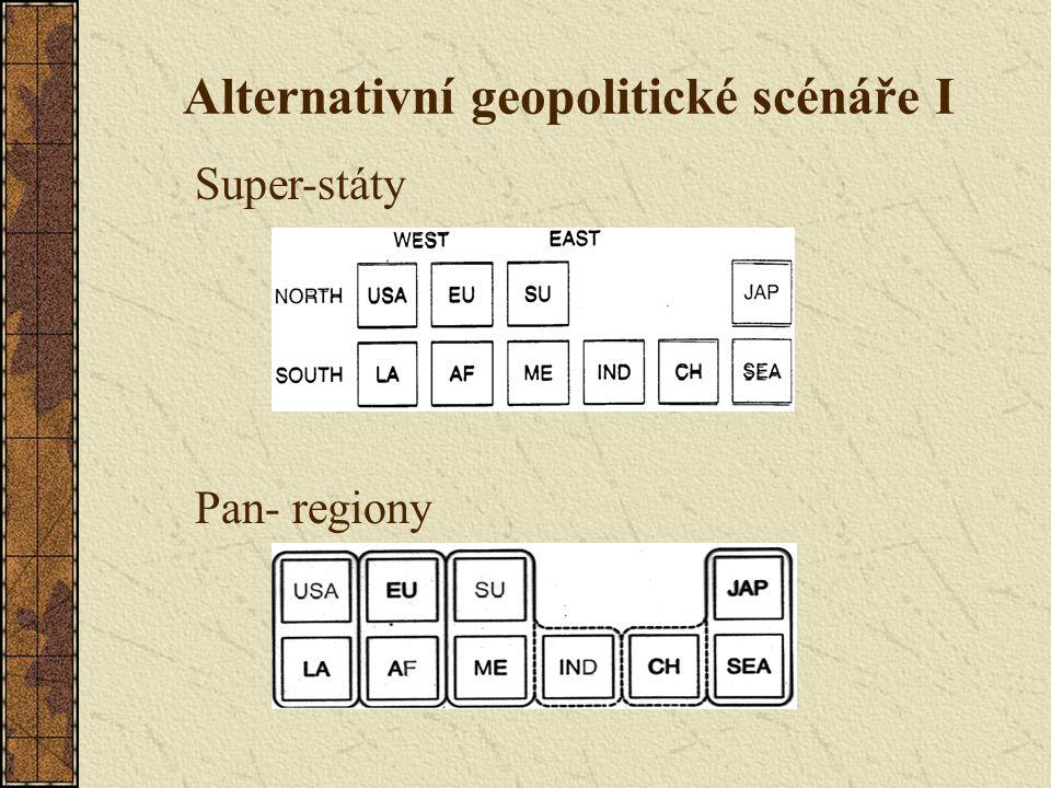 Alternativní geopolitické scénáře I