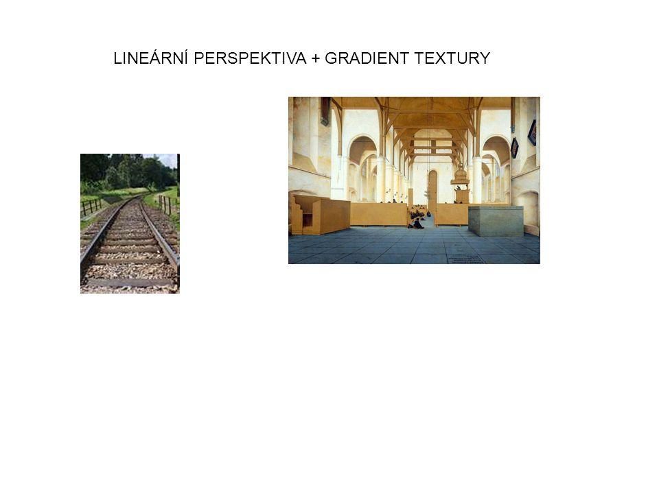 LINEÁRNÍ PERSPEKTIVA + GRADIENT TEXTURY