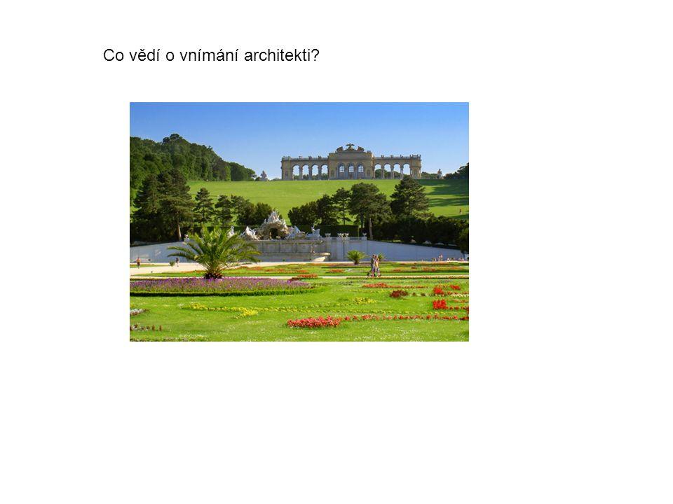 Co vědí o vnímání architekti