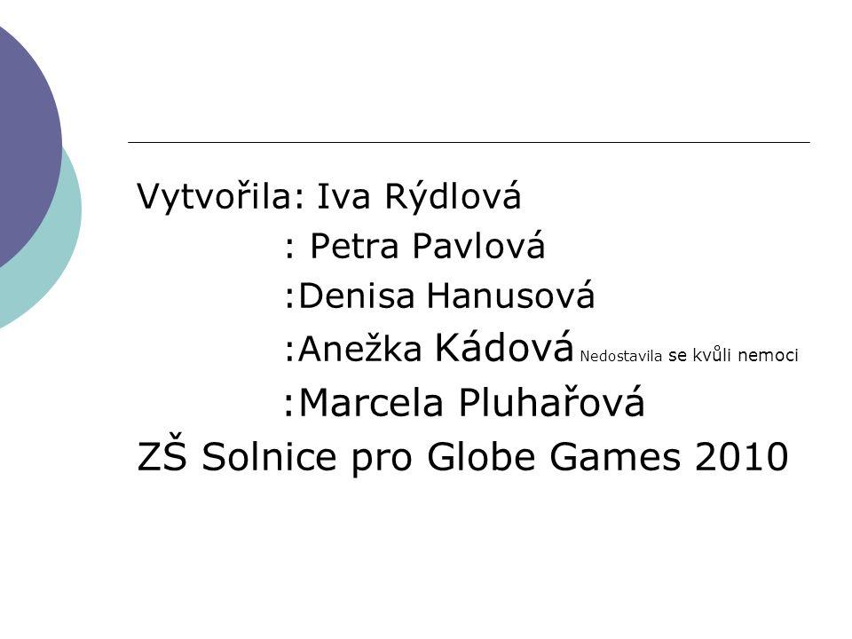 ZŠ Solnice pro Globe Games 2010