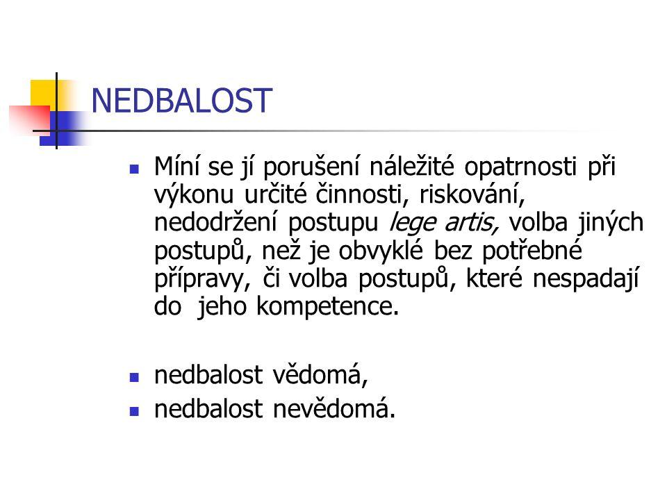 NEDBALOST
