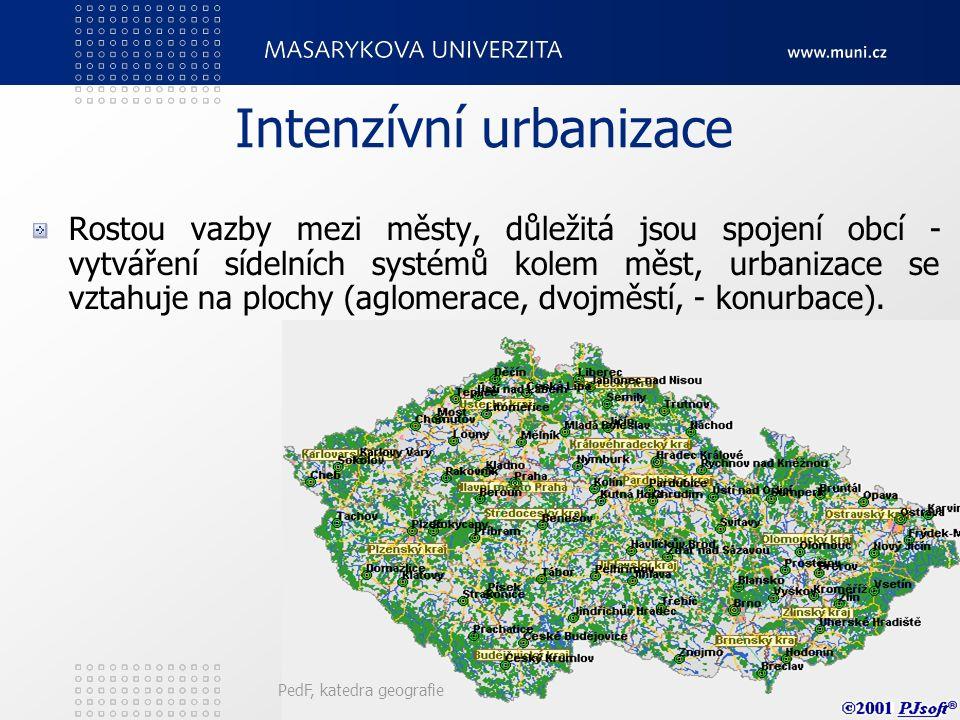 Intenzívní urbanizace