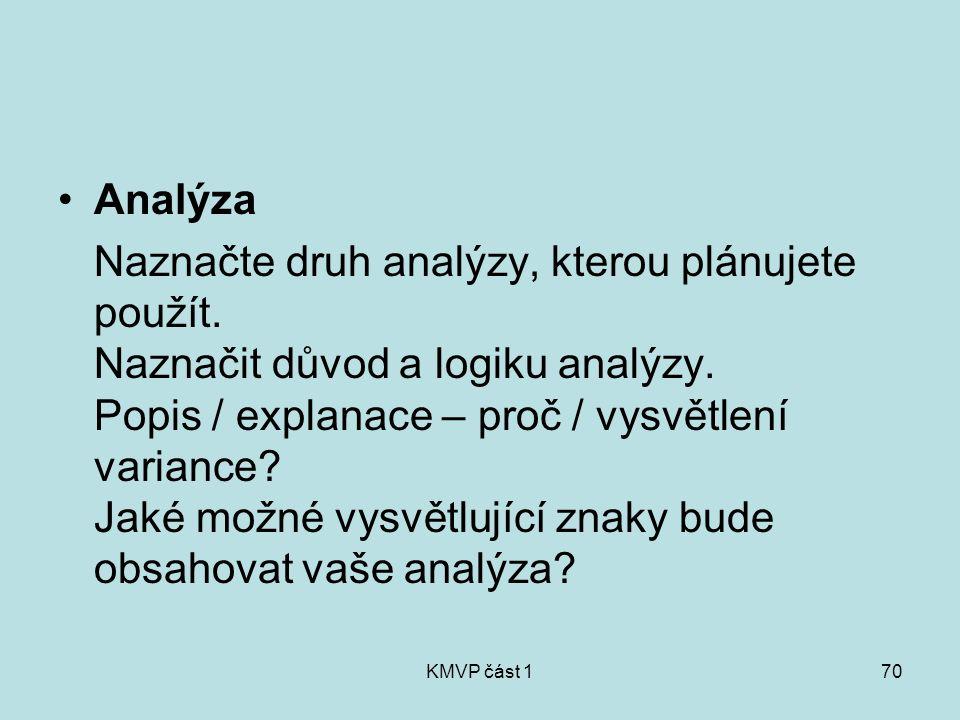 Analýza