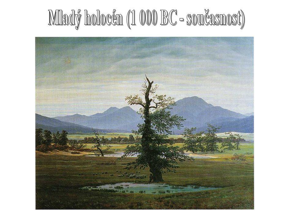 Mladý holocén (1 000 BC - současnost)