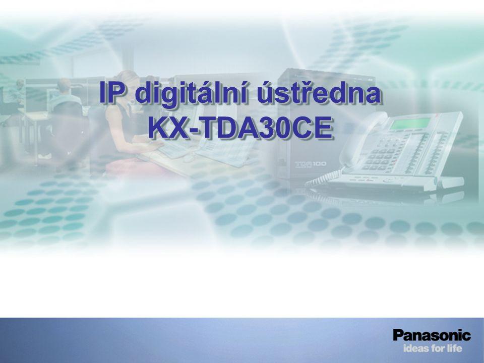 IP digitální ústředna KX-TDA30CE